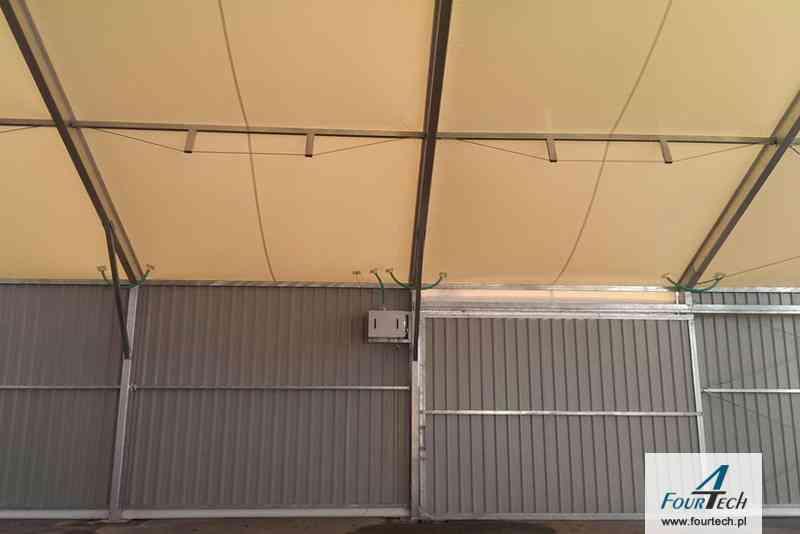 namioty magazynowe i produkcyjne