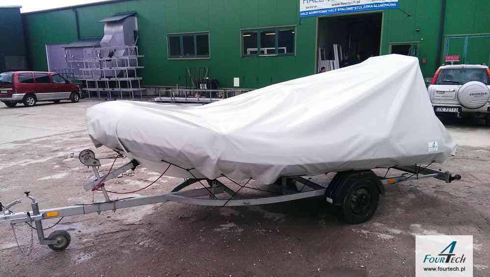 plandeka chroniąca łódkę