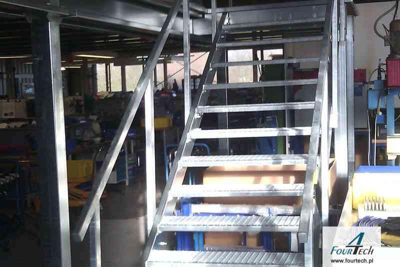 schody na antresole