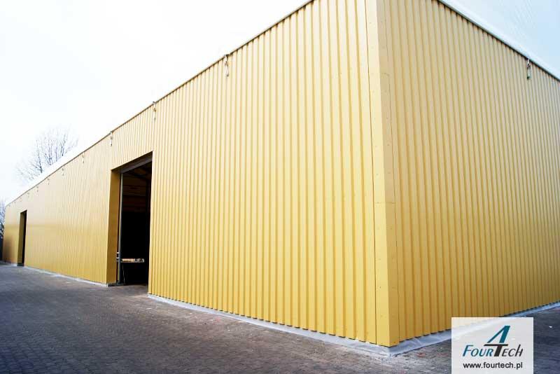 hala namiotowa żółta