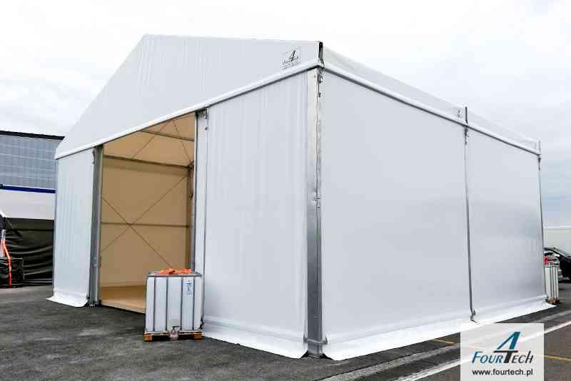 hala namiotowa biała mała