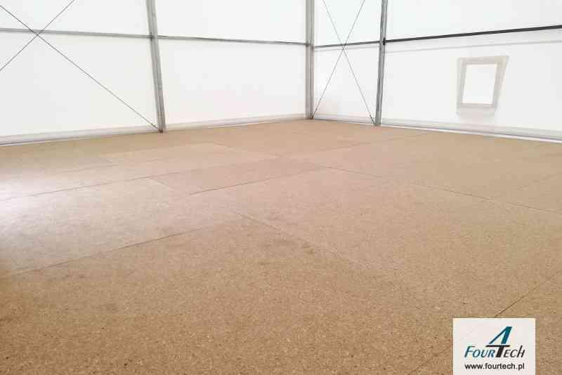 hala namiotowa podłoga