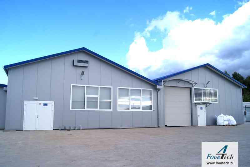 hale przemysłowe produkcyjne