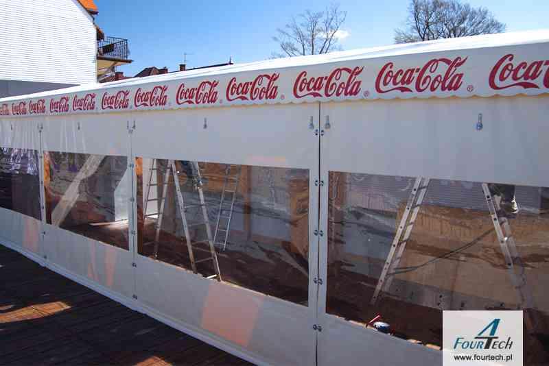 Plandeka coca cola