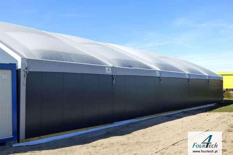 Hale namiotowa duża 2